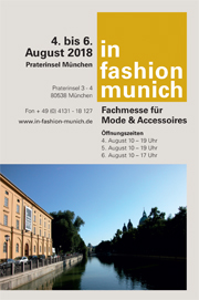 in fashion munich: 4.-6.Aug.2018