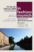 in fashion munich: 8.-10.8.2016