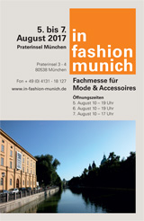 in fashion munich: 10.-12.Febr.2018