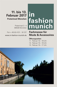 in fashion munich: 5.-8.Aug.2017