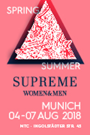 Supreme Women&Men Munich: 4.-7.Aug.2018